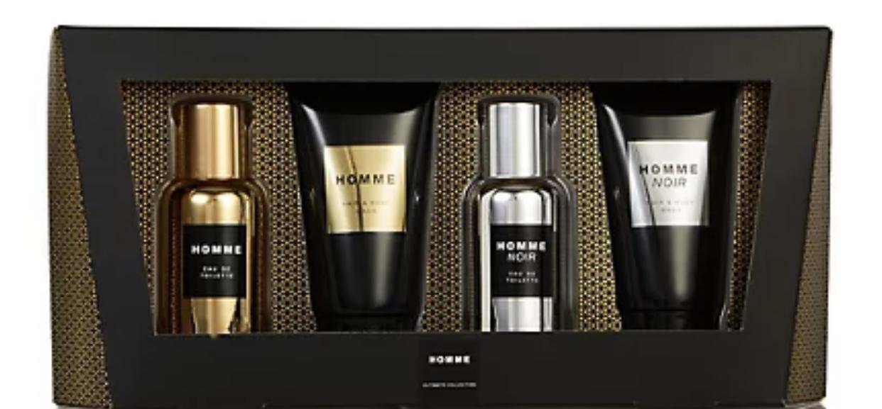 Personalized Marks and Spencer gift set : Gift for boyfriend